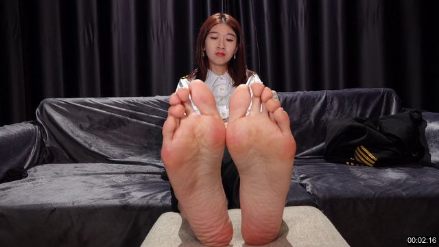 0006-【A&F】Asian Vietnamese sexy model lvyou`s barefoot3 4K