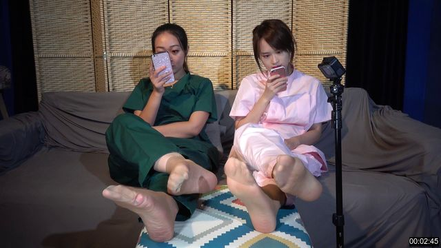 0013-【A&F】Beautiful Girl asia NO350 Stinky barefoot and sock 4K