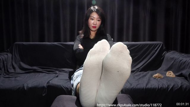 0018-【A&F】Beautiful Girl asia NO522 sock foot 4K