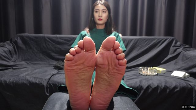 0022-【A&F】Beautiful Girl asia NO909 sex sock foot 4K (jingjing)