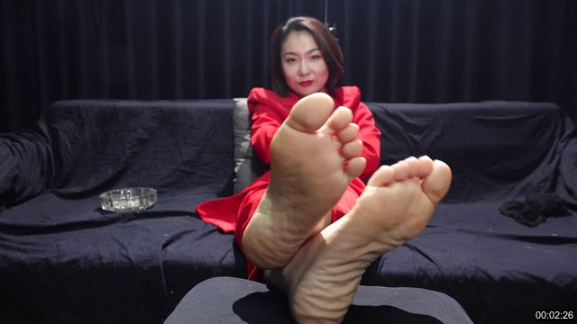 0039-【A&F】Sexy socks and feet of Vietnamese models 52 4K
